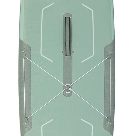 "Touring Inflatable Stand-Up Paddle Board X500 Tandem / 15""-35' Green"