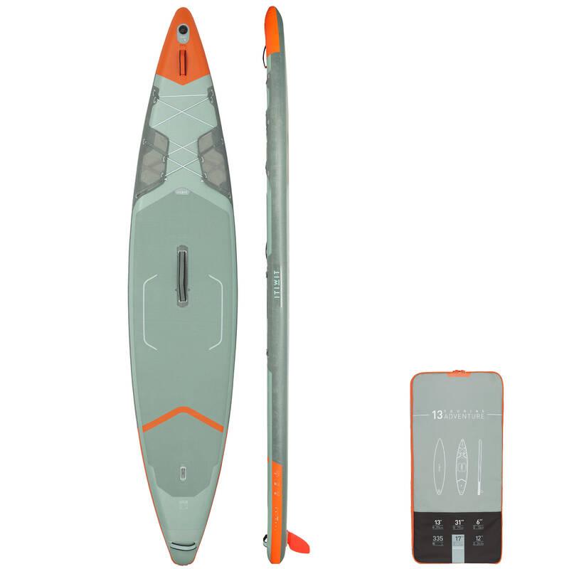 NAFUKOVACÍ PADDLEBOARD NA KLIDNOU VODU Paddleboarding - NAFUKOVACÍ SUP X500 ITIWIT - Paddleboardy