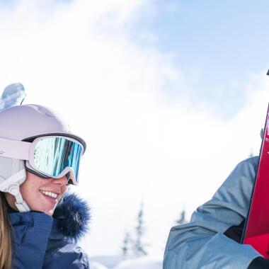 ski de piste debutant