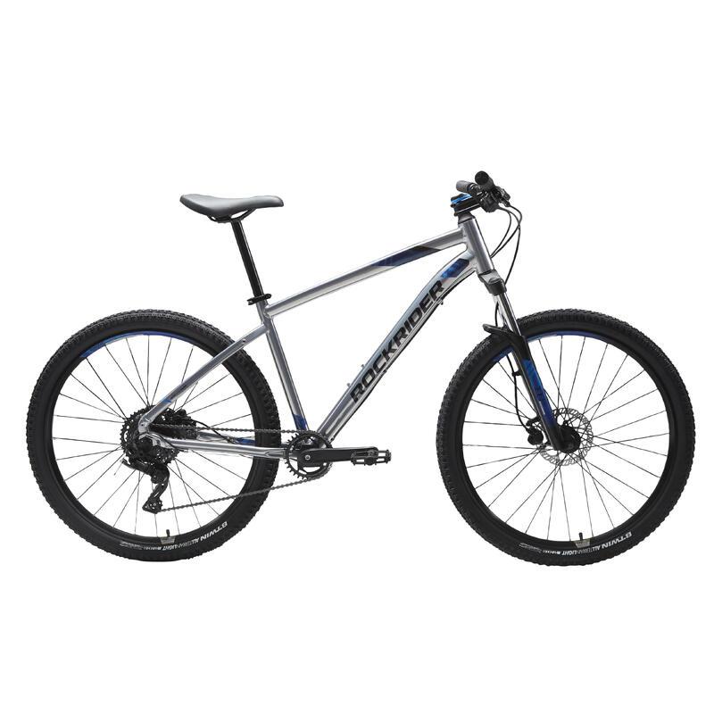 "Mountainbike ST 530 27.5"" 1x9 speed rockrider/microshift grijs"