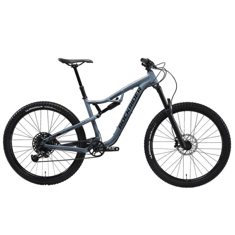 FELN#TT ALL MOUNTAIN KERÉKPÁR - MTB kerékpár AM 100 S  ROCKRIDER