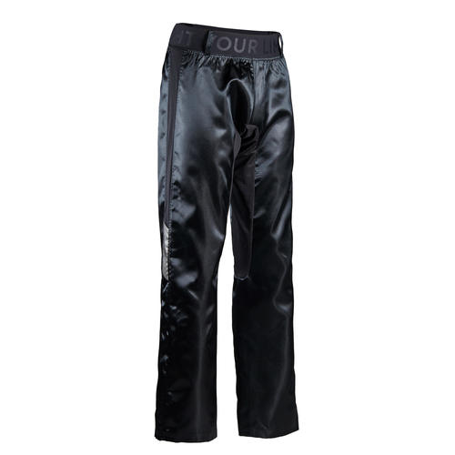 Pantalon de boxe full contact 500 noir