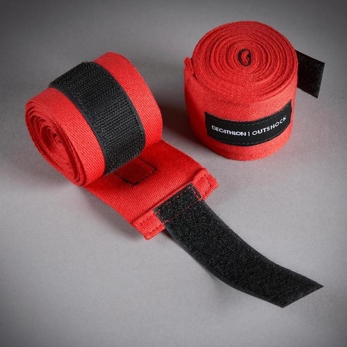 拳擊繃帶100(2.5 m)-紅色