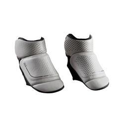 Voetbeschermers voor boksen 500 geïntegreerde bescherming grijs
