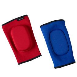 Omkeerbare elleboogbeschermer voor thaiboksen training/competitie rood/blauw