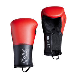 GANTS DE BOXE 100 JR ROUGES