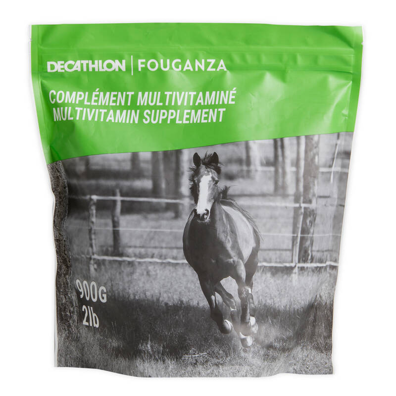 DOPLŇKY STRAVY Jezdectví - MULTIVITAMIN 900 G FOUGANZA - Péče o koně