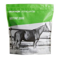 Suplemento Alimentar de Equitação para Cavalo e Pónei BIOTINA - 1 kg