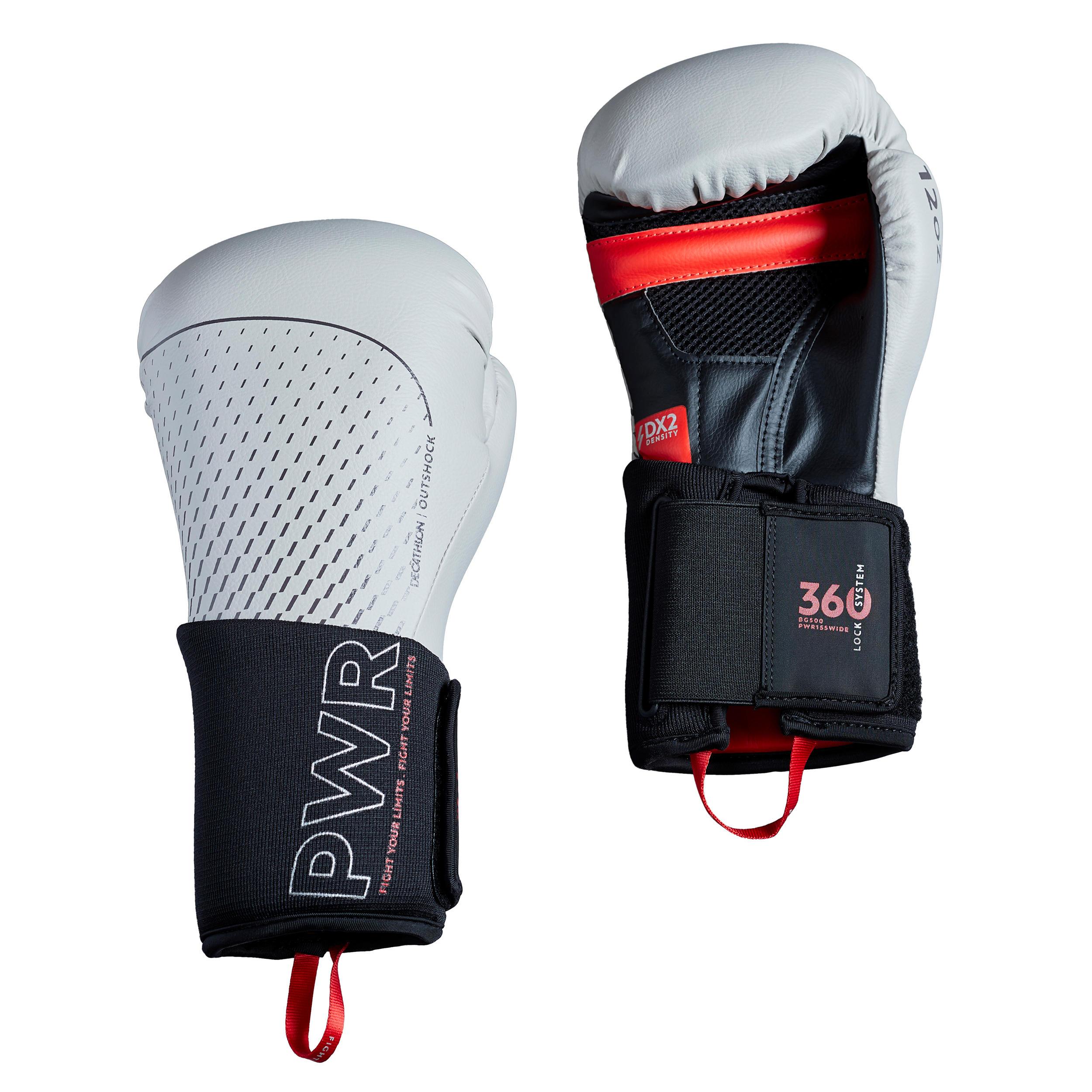 Mănuși DE BOX 500 Gri