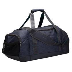 55L運動提袋Academic-黑色/綠松色