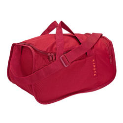 Sac de sports collectifs Kipocket 20 litres bordeaux