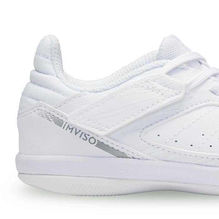Zaalvoetbalschoenen voor kinderen Eskudo 500 wit