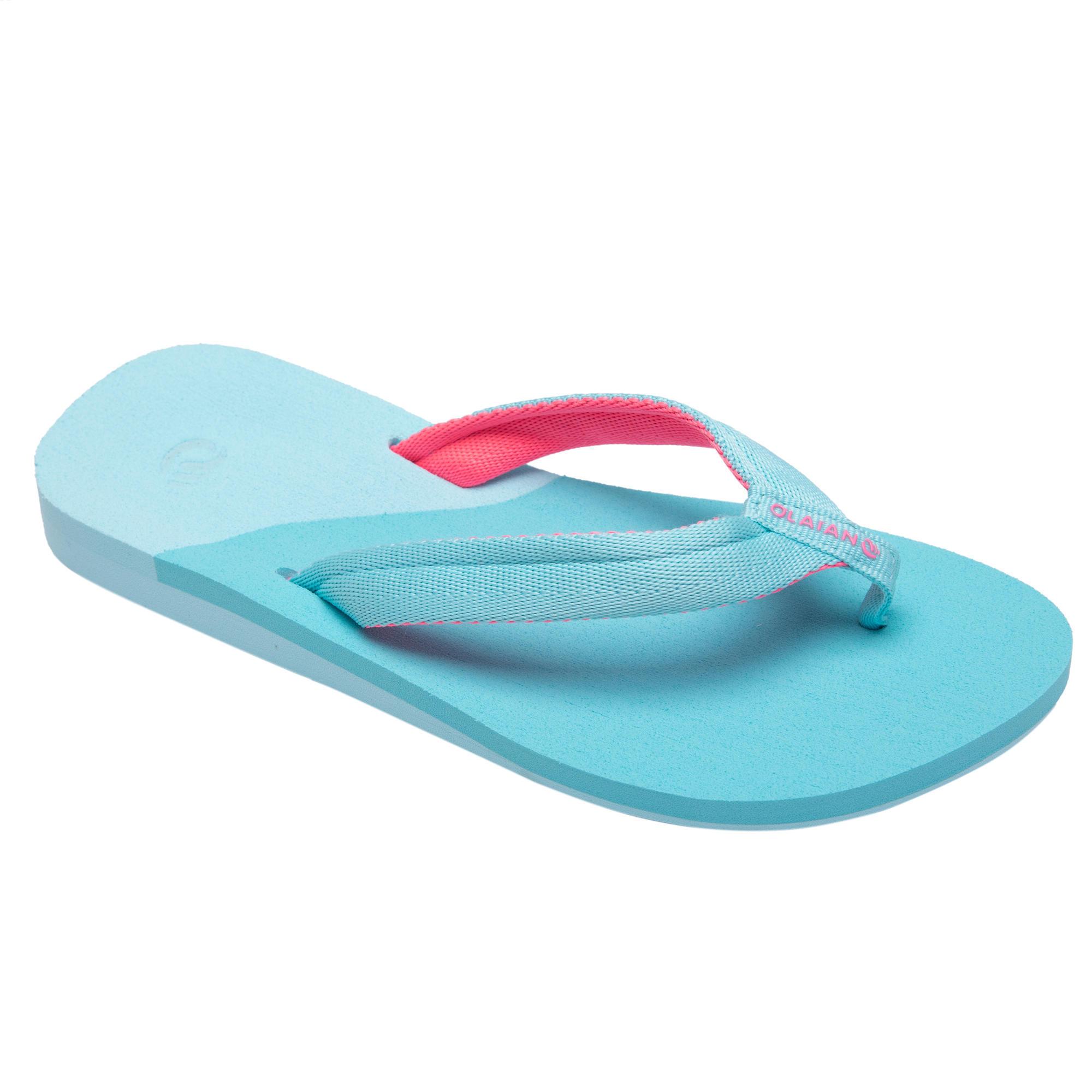 Girl's FLIP-FLOPS TO 550 Pink - Decathlon