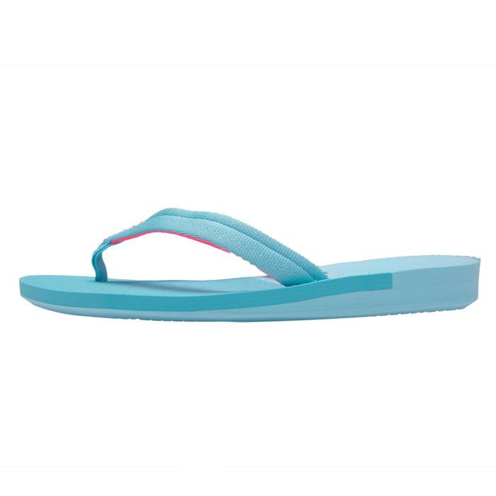 女童款夾腳拖鞋550-藍色