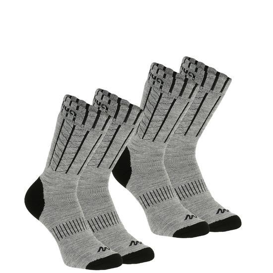 2 paar sokken Arpenaz Warm - 184007