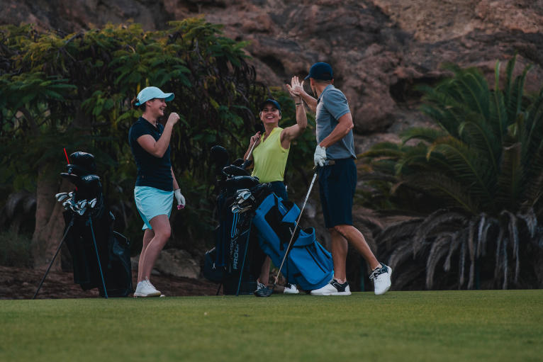 golf entre l'amis et l'etiquette