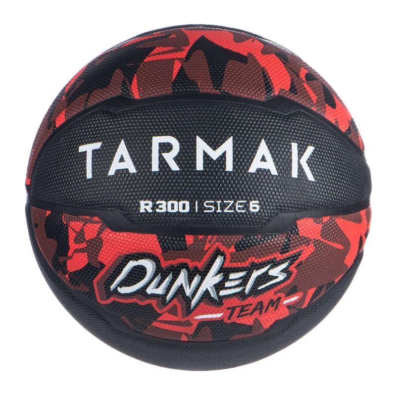 PALLONI BASKET Sport di squadra - Pallone basket R300 T6 nero TARMAK - Palloni e accessori basket