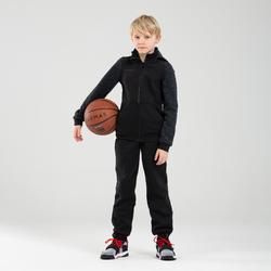 Veste Survêtement De Basketball Pour Garçon/Fille Confirme(e) J500 - Noir