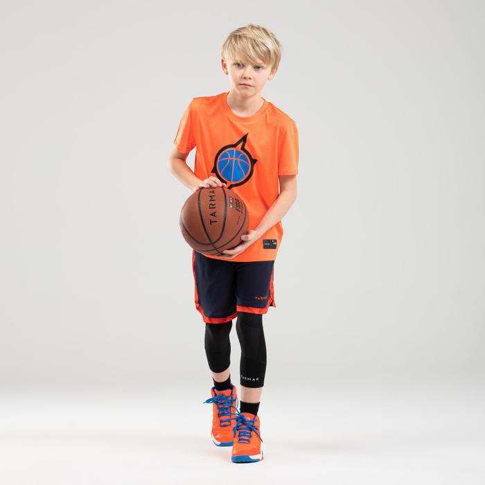 Boys'/Girls' Intermediate Basketball T-Shirt TS500 - Orange