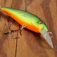 PLUG BAIT JERKBAIT/ DEEP MINNOW LURE FISHING MNWDD 50 SP FIRETIGER