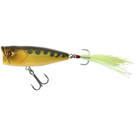 PLUG BAIT POPPER FISHING LURE PPR 50 F FROG