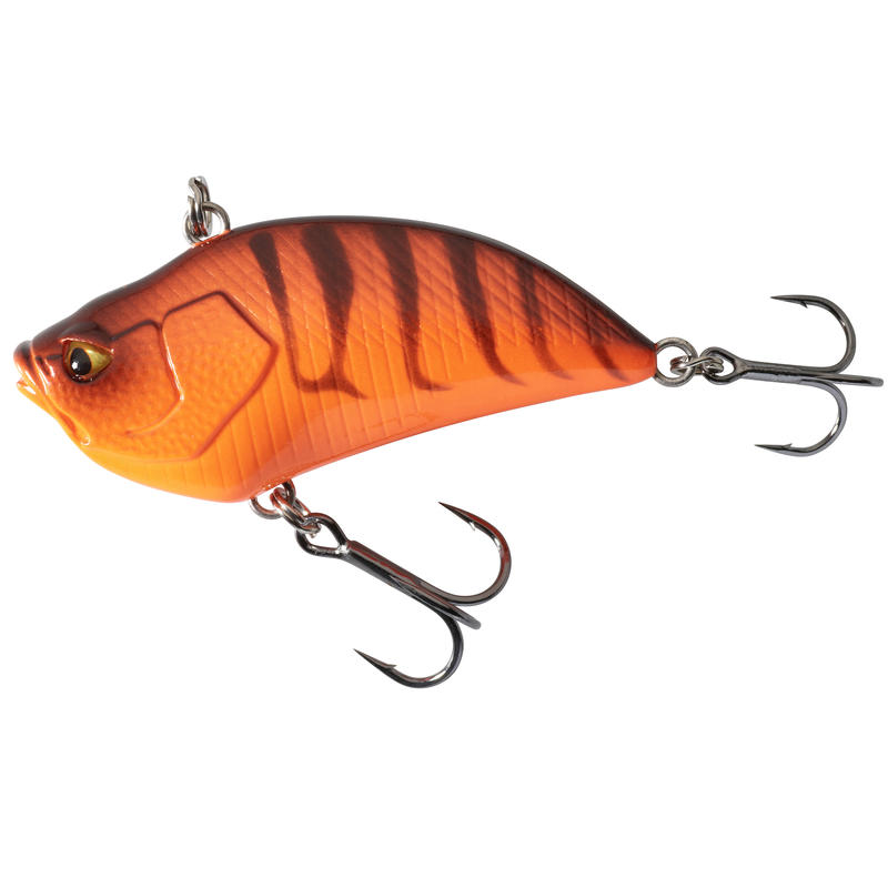 PLUG BAIT LIPLESS FISHING LURE VBN 50 S CRAYFISH