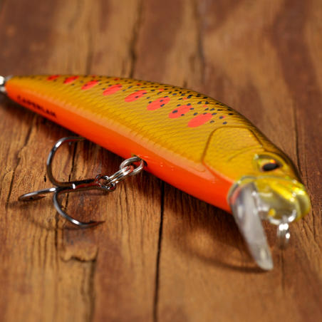 PLUG BAIT TROUT MINNOW LURE FISHING MNWFS 65 US YAMAME ORANGE