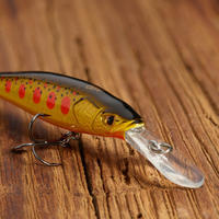 PLUG BAIT JERKBAIT/ DEEP MINNOW LURE FISHING MNWDD 50 SP YAMAME ORANGE