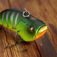 PLUG BAIT LIPLESS FISHING LURE VBN 50 S FIRETIGER