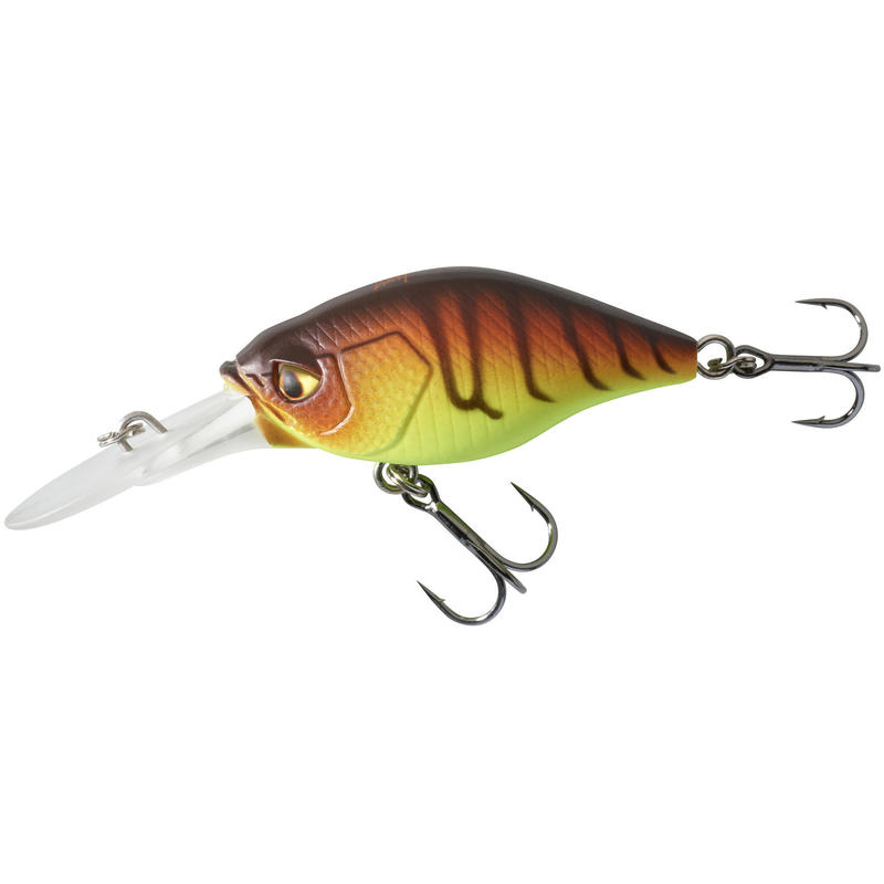 Kunstvisje Crankbait Deep Diving kunstaasvissen CRKDD 40 F Orange Tiger