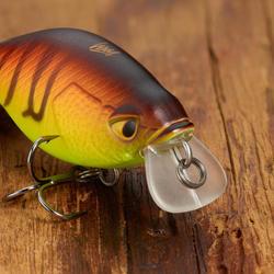 Kunstvisje kunstaasvissen crankbait shallow runner crksr 40 f orangetiger