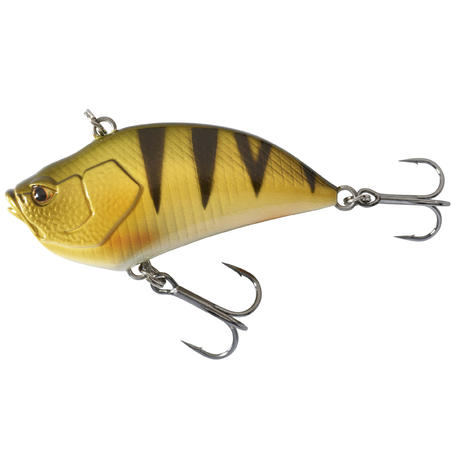 PLUG BAIT LIPLESS FISHING LURE VBN 50 S PERCH