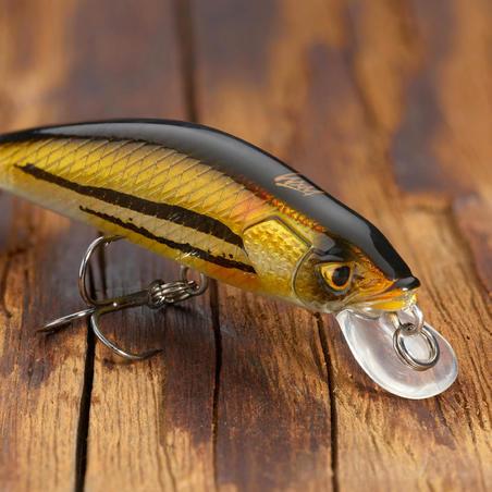 TROUT PLUG BAIT MNWFS MINNOW LURE FISHING US 50 MINNOW