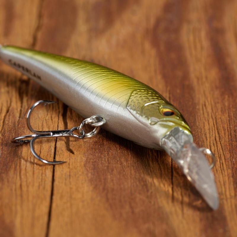 PLUG BAIT JERKBAIT MINNOW LURE FISHING TROUT KIT 3 PB