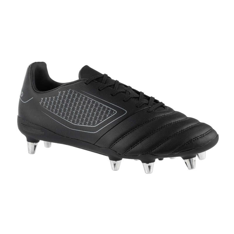 SKOR FÖR RUGBY, MJUKT UNDERLAG Typ av sko - Rugbysko IMPACT R100 SG8 Herr OFFLOAD - Typ av sko