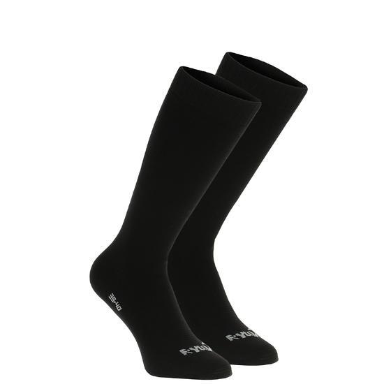 1 paar fleece sokken Rywan zwart - 184114