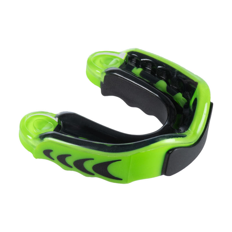Paradenti rugby adulto 3D verde