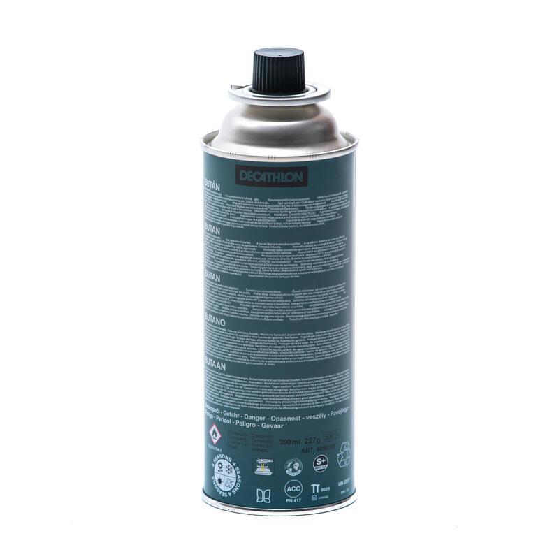 Butane gas cartridge 220 g for hiking camping stove