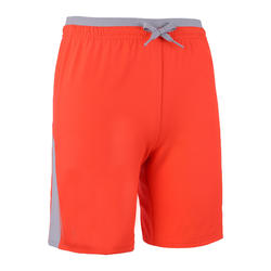兒童款短褲F520 - 螢光橘