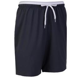 成人款足球短褲F500 - 灰色