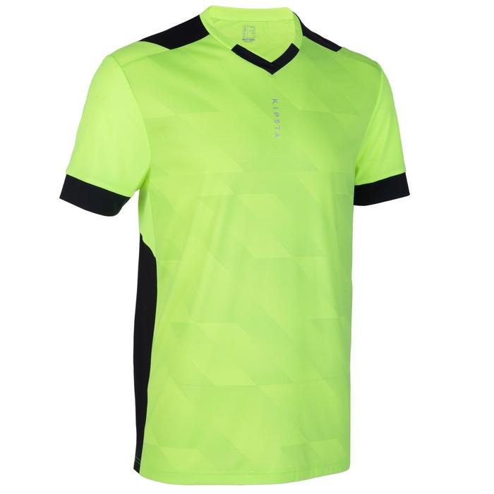 Adult Football Shirt F500 - Neon Yellow