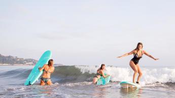 Surf a foamie - Soft top surfboard