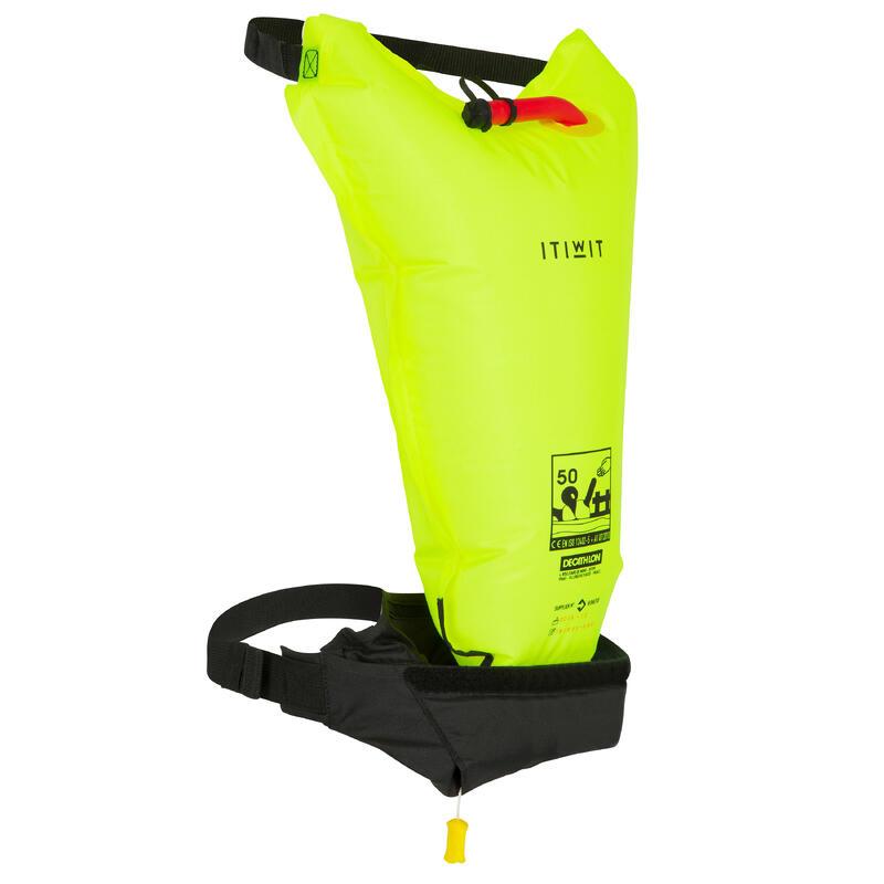 Cintura aiuto galleggiamento gonfiabile BA 50N+ EIF PFD