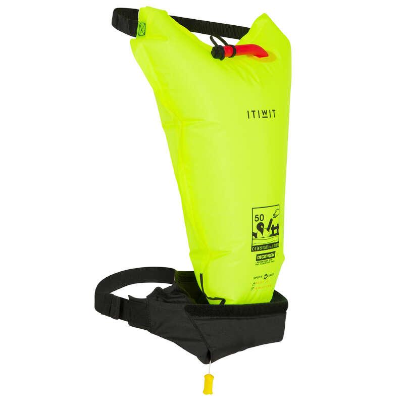 Kieszonki na wodę Stand Up Paddle - PAS WYPORNOŚCIOWY ASEKURACYJNY ITIWIT - Stand Up Paddle