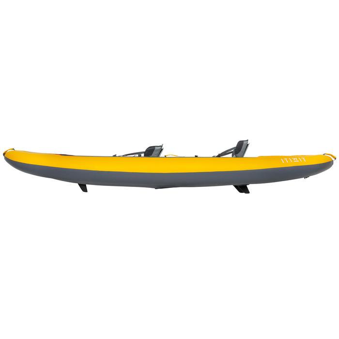 充氣式高壓落針底座2人座巡航獨木舟X100+