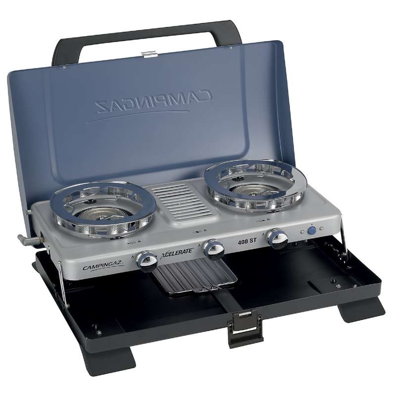 HIKING CAMP STOVES, COOKSETS, CARTRIDGES Camping - Xcelerate 400 ST Stove CAMPINGAZ - Camping Cooking Equipment