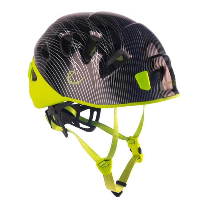 casque d'escalade et d'alpinisme - SHIELD II Noir et Vert