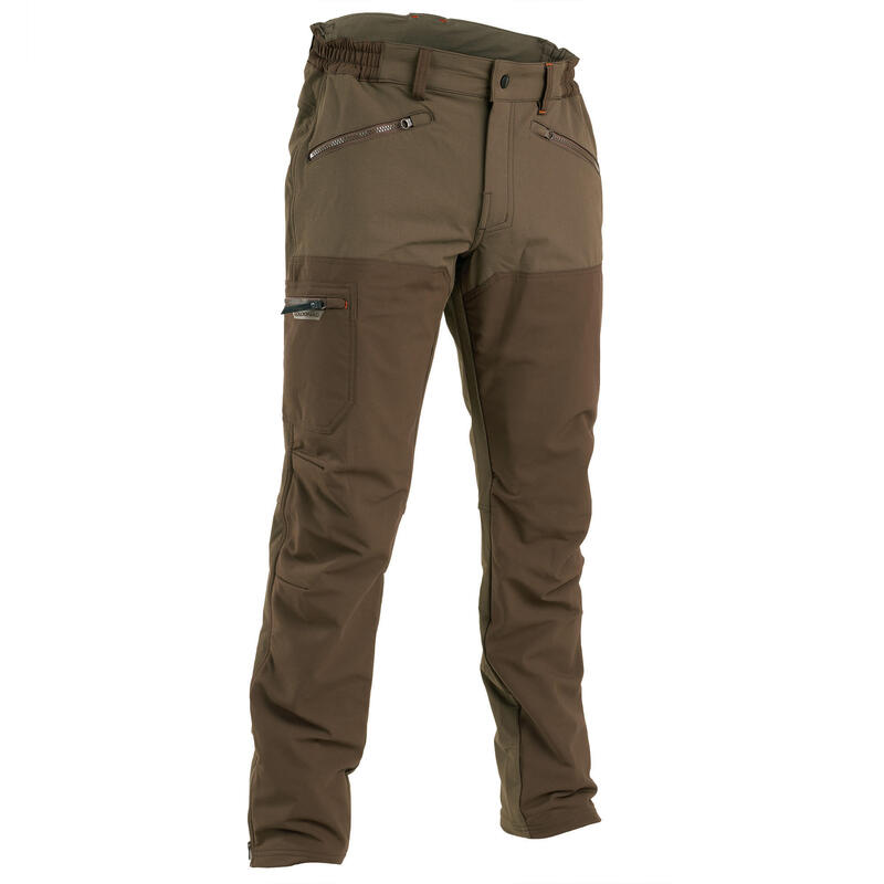 Pantaloni caccia RENFORT 900 marroni