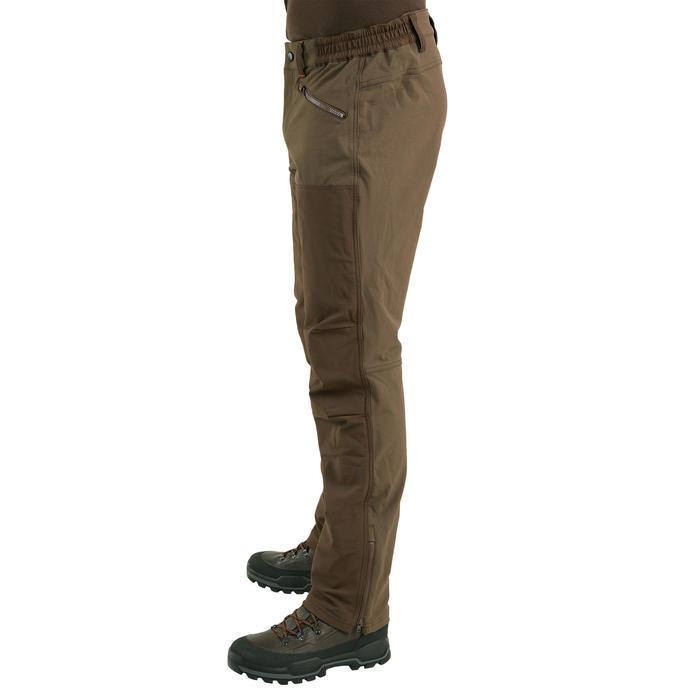 Jachtbroek voor droog weer Renfort 900 bruin