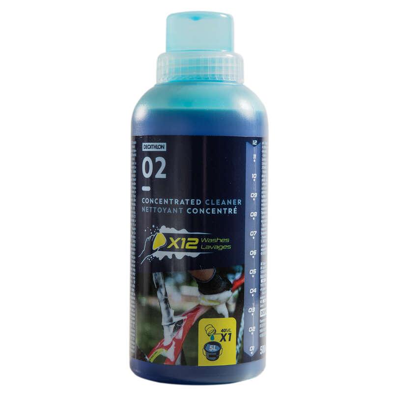 Karbantartás Kerékpározás - Kerékpár tisztítószer BTWIN - Alkatrész, tárolás, karbantartás